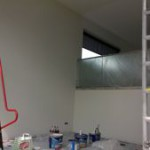 Binnenschilderwerk woning, sauzen muren/plafond 1