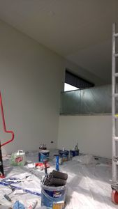 Binnenkant huis, roomgeel plafond 3 klein