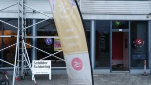 Schilderwerkzaamheden sportschool Go For It Welness, foto 2